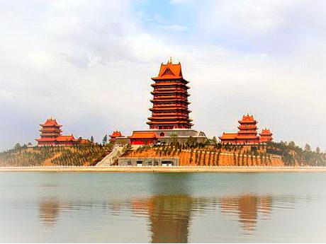 青铜峡中华黄河楼旅游风景区