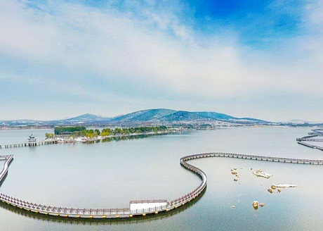 贾汪督公湖旅游景�? border=